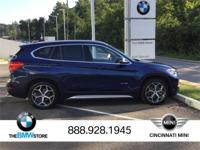 Certified New 2017 BMW X1 xDrive28i Mediterranean Blue