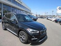 2017 BMW X1 xDrive28i 31/22 Highway/City MPGAwards:  *