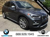 Service Loaner: 2017 BMW X1 xDrive28i Mineral Gray