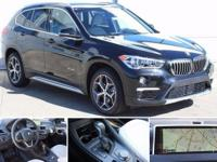 2017 Black Sapphire BMW X1 xDrive28i  Options:  3.15