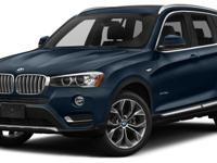 This 2017 BMW X3 4dr sDrive28i features a 2.0L 4