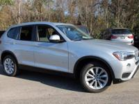 2017 BMW X3 sDrive28i 28/21 Highway/City MPG  Options: