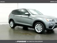 2017 BMW X3 sDrive28i 28/21 Highway/City MPG - Air