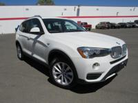 You'll love the look and feel of this 2017 BMW X3