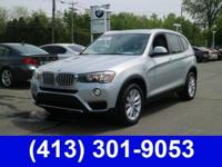 Priced below KBB Fair Purchase Price! 2017 BMW X3