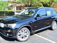 2017 BMW X3 xDrive28i 8-Speed Automatic. 28/21