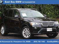 Options:  2017 Bmw X3 Xdrive28i|Black Sapphire