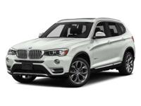 This BMW X3 has a powerful Intercooled Turbo Premium