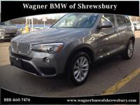 Wagner BMW of Shrewsbury is excited to offer this 2017