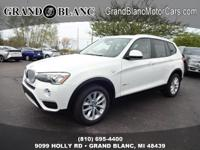 2017 BMW X3 Xdrive28i...Features Include: AWD,