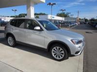 2017 BMW X3 xDrive28i 28/21 Highway/City MPG  Options: