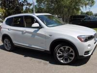 2017 BMW X3 xDrive28i 28/21 Highway/City MPG  Options: