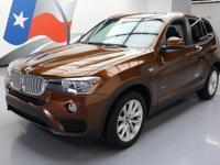 2017 BMW X3 with 2.0L Turbocharged I4 Engine,'SensaTec'