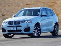 This 2017 BMW X3 comes with AWD, Advanced Real-Time