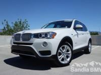 Sandia BMW MINI is offering this  2017 BMW X3
