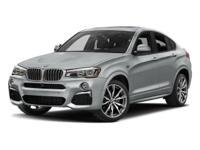 Options:  2017 Bmw X4 M40i Carbon Black