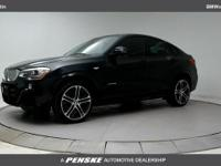 ONE OWNER and CLEAN CARFAX! 2017 BMW X4 xDrive28i
