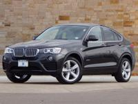 This 2017 BMW X4 comes with AWD, Advanced Real-Time