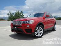 Sandia BMW MINI is offering this  2017 BMW X4