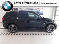 All-new 2017 BMW X5 M in Black Sapphire Metallic with