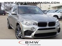 2017 BMW X5 M  Options:  3.154 Axle Ratio Wheels: 21 X