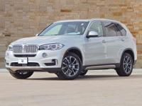 This 2017 BMW X5 comes with AWD/all-wheel drive, black