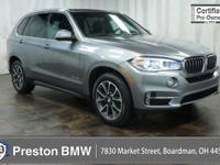Clean CARFAX. Certified. Space Gray Metallic 2017 BMW