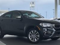 Beautiful 2017 BMW X6 sDrive35i Executive Demo... This