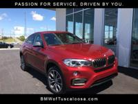 BMW of Tuscaloosa presents this 2017 BMW X6 sDrive35i