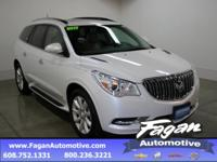 New Price! White Frost Tricoat 2017 Buick Enclave