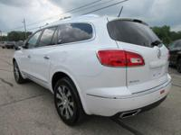 Options:  2017 Buick Enclave Leather|White Frost
