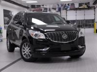 2017 Buick Enclave Leather Group Black CARFAX