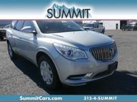 Take a seat in the Buick Enclave and you instantly