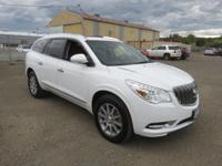 White 2017 Buick Enclave Leather Group FWD 6-Speed