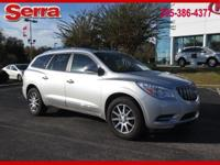 Silver 2017 Buick Enclave Leather Group FWD 6-Speed