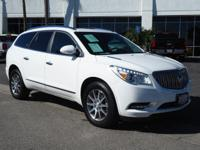 CARFAX 1-Owner, Buick Certified. REDUCED FROM $31,000!,