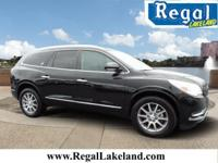 Black 2017 Buick Enclave Leather Group FWD 6-Speed