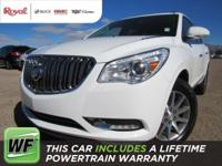 The Enclave is the SUV that's spacious on the inside,