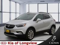 Clean CARFAX. Silver 2017 Buick Encore Essence FWD