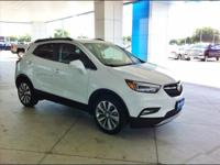2017 BUICK ENCORE......WHITE EXTERIOR with JET LEATHER
