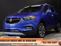 2017 Buick Encore Preferred II in Coastal Blue