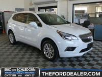 CARFAX One-Owner. Clean CARFAX. Summit White 2017 Buick