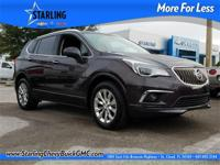 New Price! This 2017 Buick Envision Essence in Black