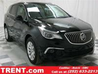 The Buick Envision features a bold athletic exterior