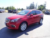 CARFAX One-Owner. 2017 Buick Envision Premium I Maroon