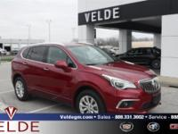 Chili Red Metallic 2017 Buick Envision **6 YEAR