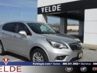 Galaxy Silver Metallic 2017 Buick Envision **6 YEAR