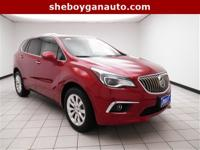 Chili Red Metallic 2017 Buick Envision Essence ** NEW