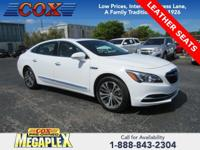 This 2017 Buick LaCrosse Essence in Summit White is