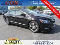 This 2017 Buick LaCrosse Essence in Black Onyx is well